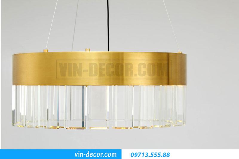 đèn pha lê phòng khách cao cấp 01
