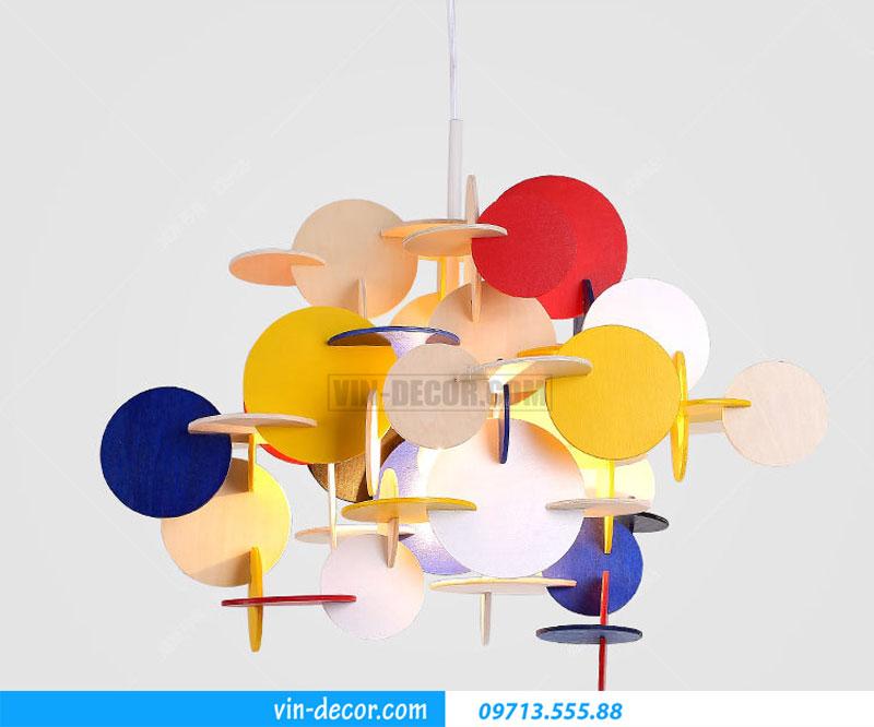 đèn phòng ngủ decor màu sắc 01