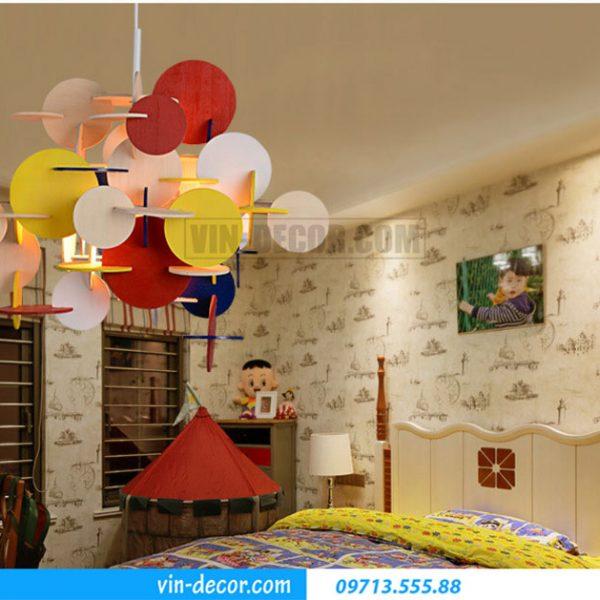 đèn phòng ngủ decor sắc màu 07