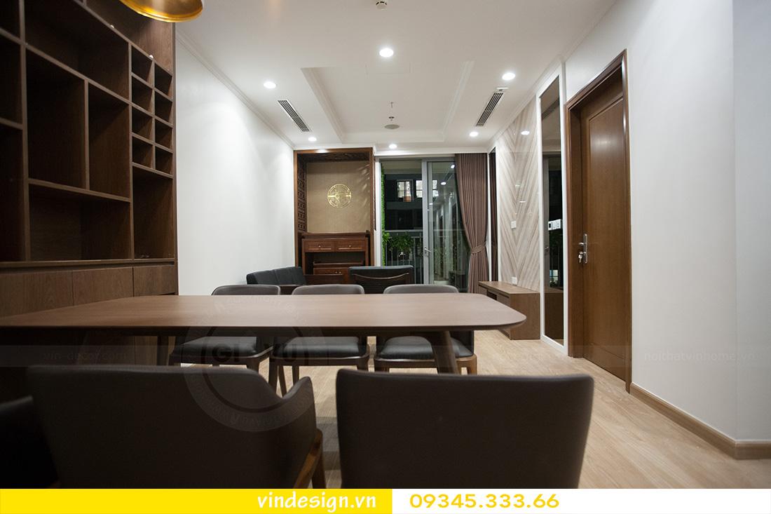 thi công thực tế căn hộ Park Hill P11 căn 11 04