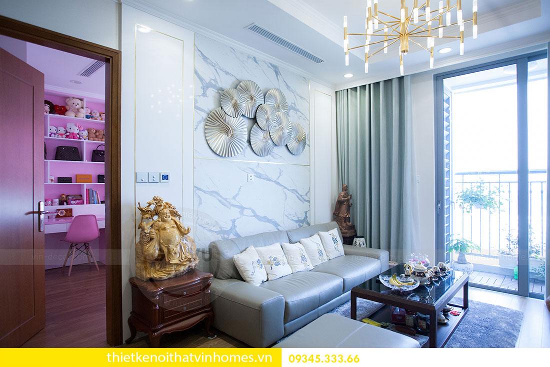 Hoàn thiện nội thất căn hộ Park Hill 1