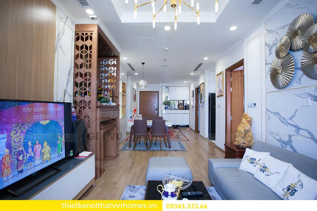 Hoàn thiện nội thất căn hộ Park Hill 6