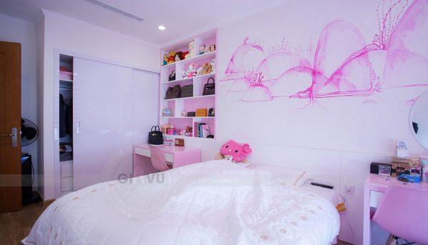 Hoàn thiện nội thất căn hộ Park Hill 7