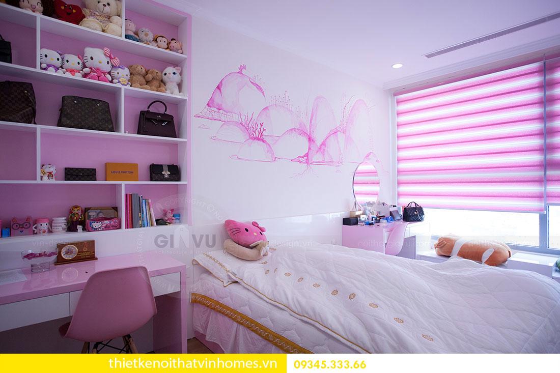 Hoàn thiện nội thất căn hộ Park Hill 8