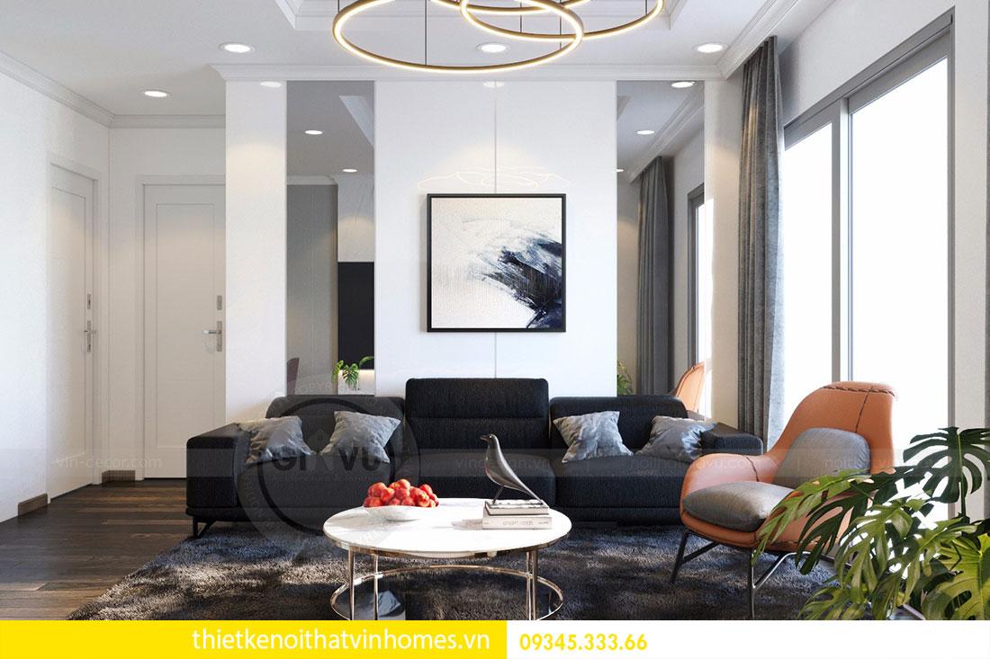 Thiết kế nội thất chung cư Mandarin Garden 2 view 3