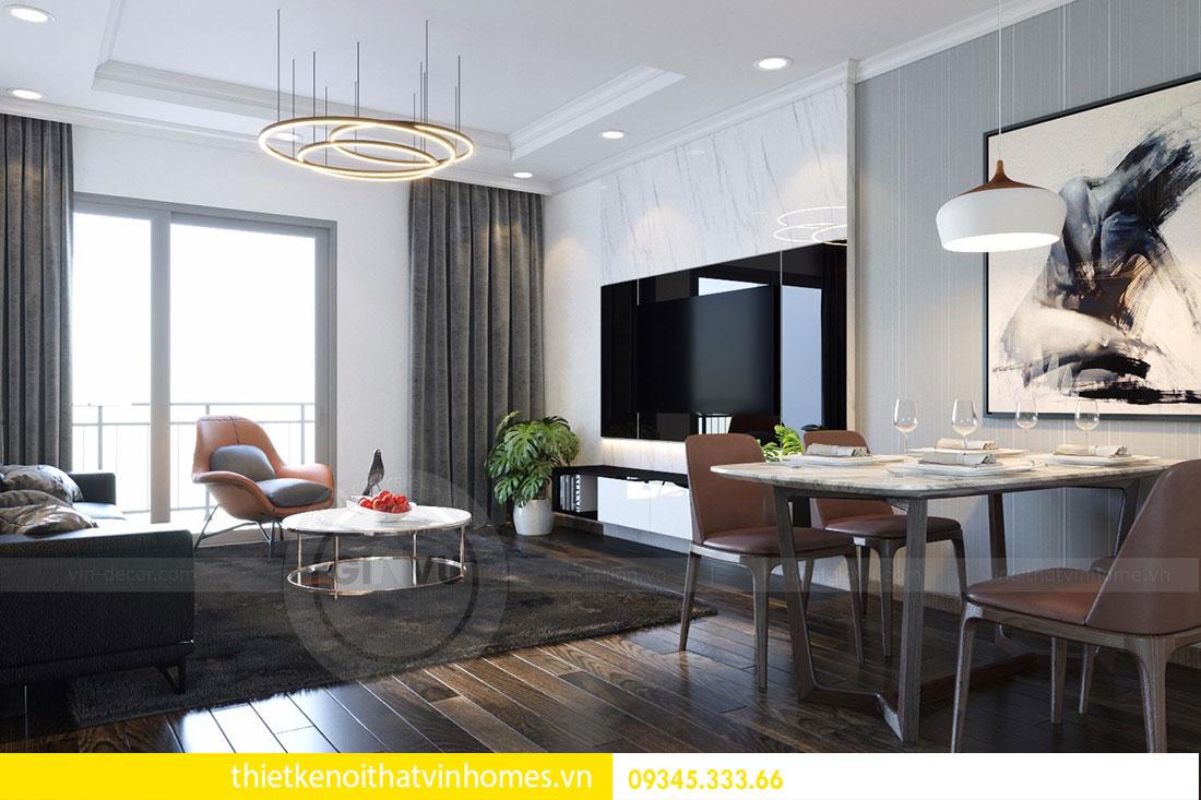 Thiết kế nội thất chung cư Mandarin Garden 2 view 4