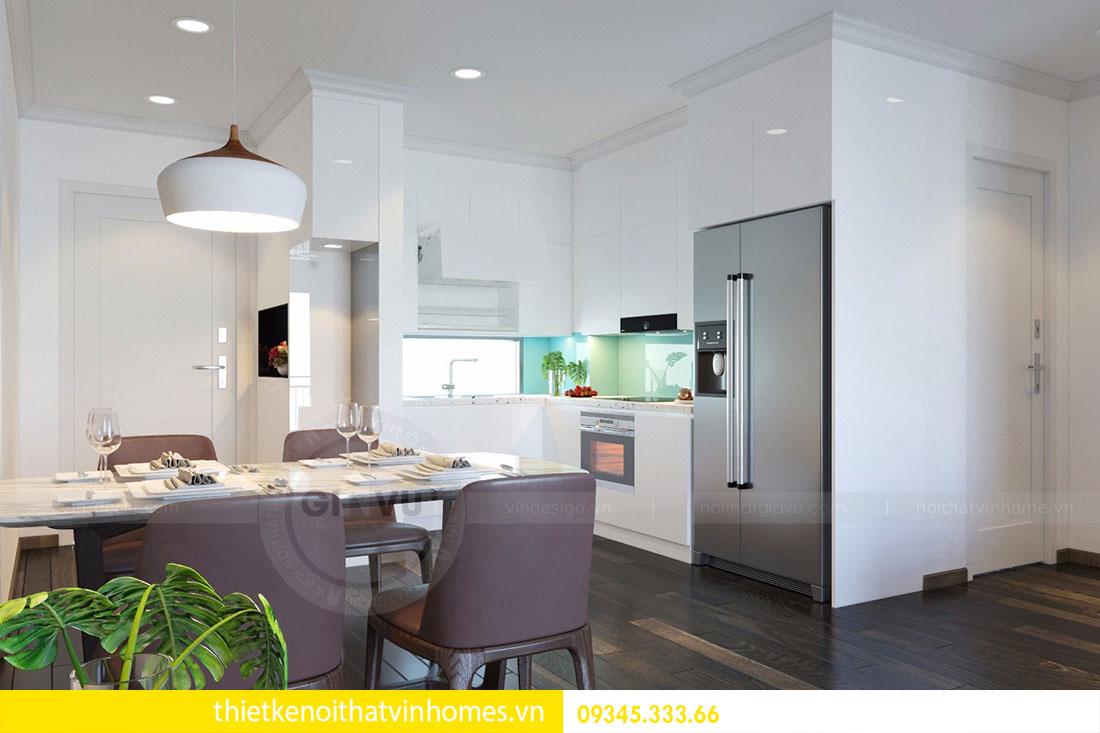 Thiết kế nội thất chung cư Mandarin Garden 2 view 5
