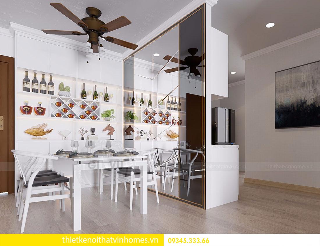 Nội thất chung cư Vinhomes Gardenia căn 03 tòa A1 view 2