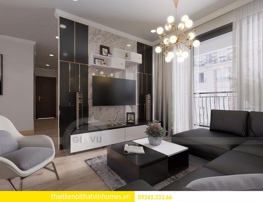 Nội thất chung cư Vinhomes Gardenia căn 03 tòa A1 view 3