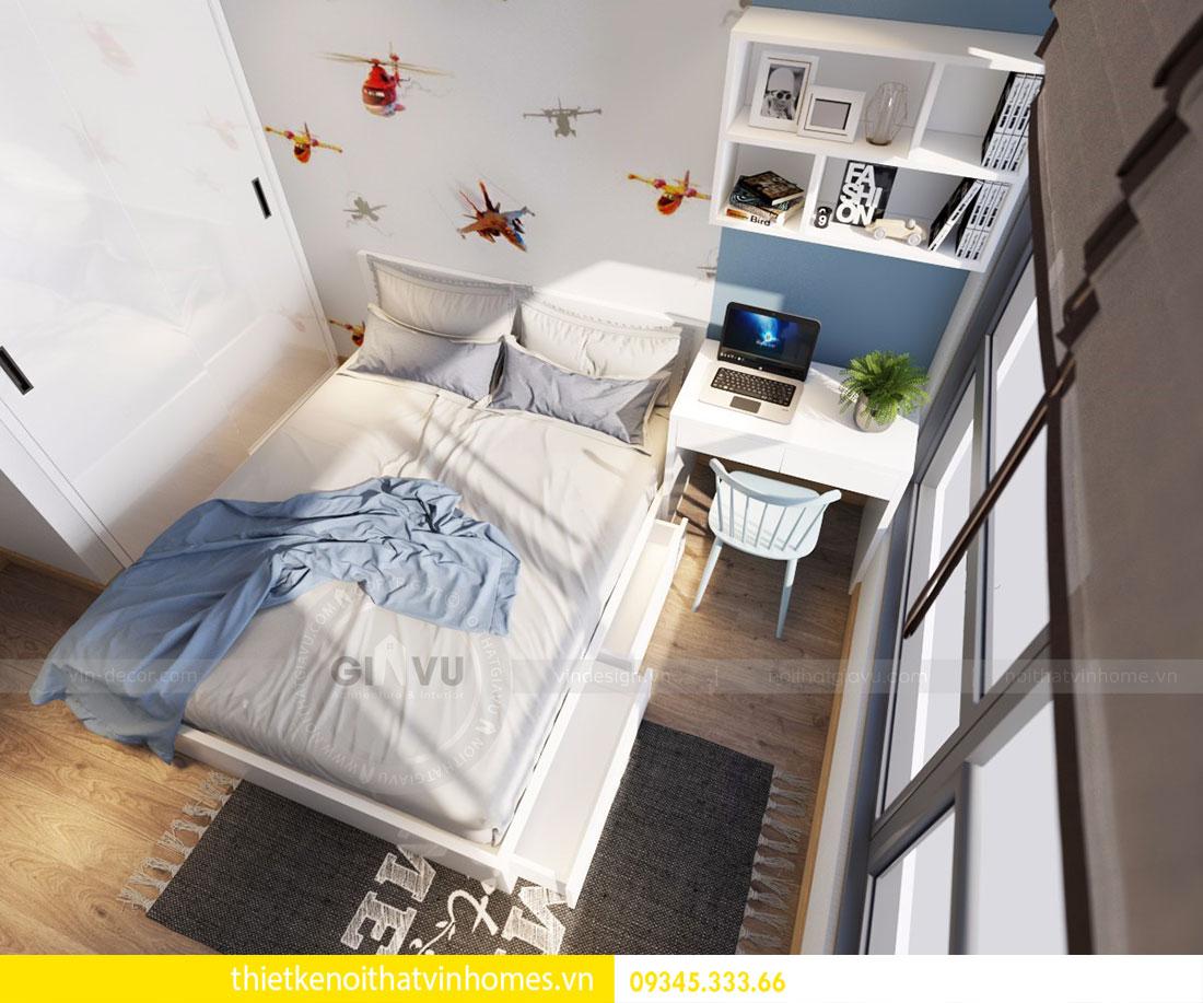 Nội thất chung cư Vinhomes Gardenia căn 03 tòa A1 view 9