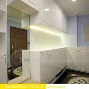 Thi công nội thất chung cư DCapitale theo phong cách tân cổ điển 1