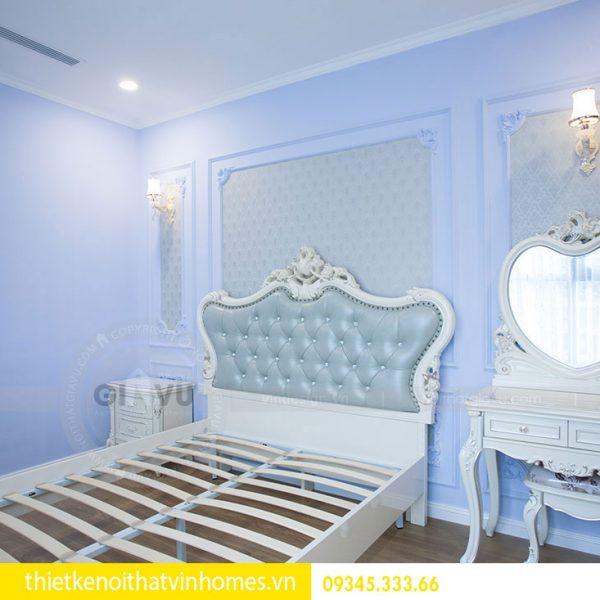 Thi công nội thất chung cư DCapitale theo phong cách tân cổ điển 10