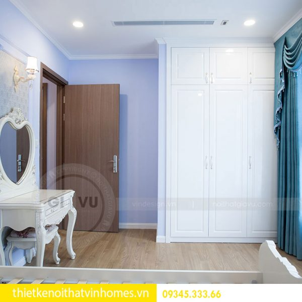 Thi công nội thất chung cư DCapitale theo phong cách tân cổ điển 11