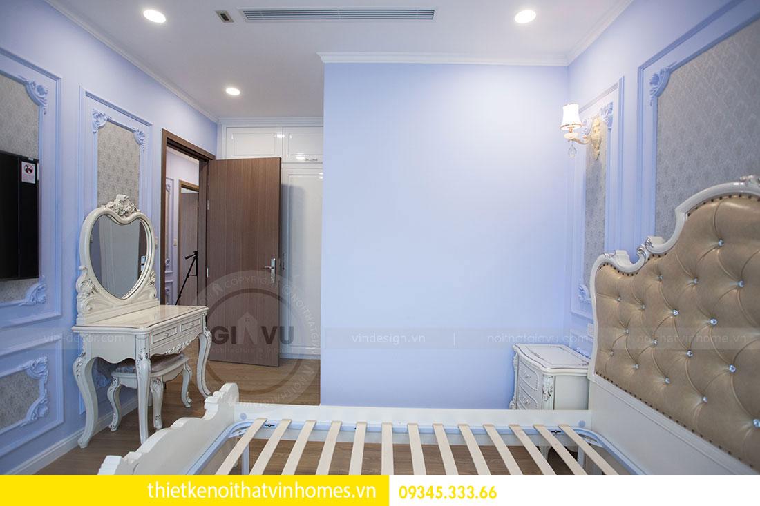 Thi công nội thất chung cư DCapitale theo phong cách tân cổ điển 13
