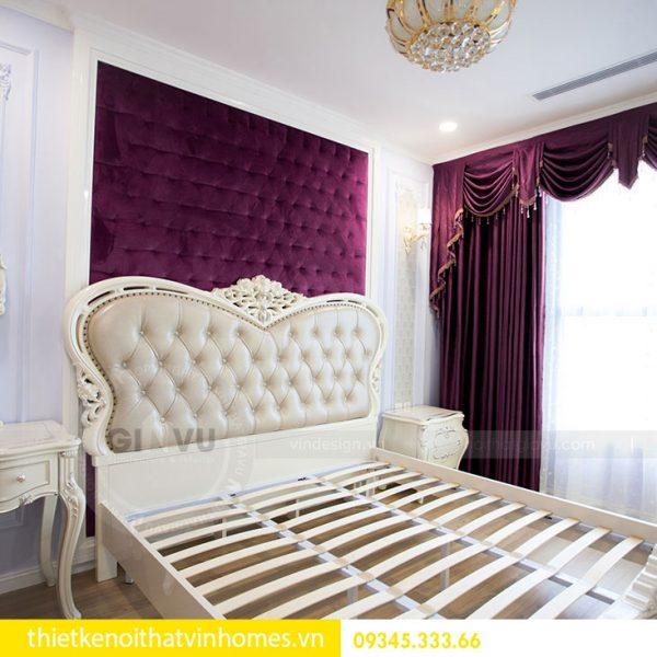 Thi công nội thất chung cư DCapitale theo phong cách tân cổ điển 14