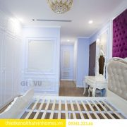 Thi công nội thất chung cư DCapitale theo phong cách tân cổ điển 15