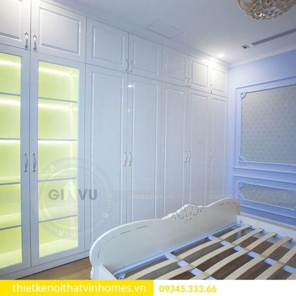 Thi công nội thất chung cư DCapitale theo phong cách tân cổ điển 16