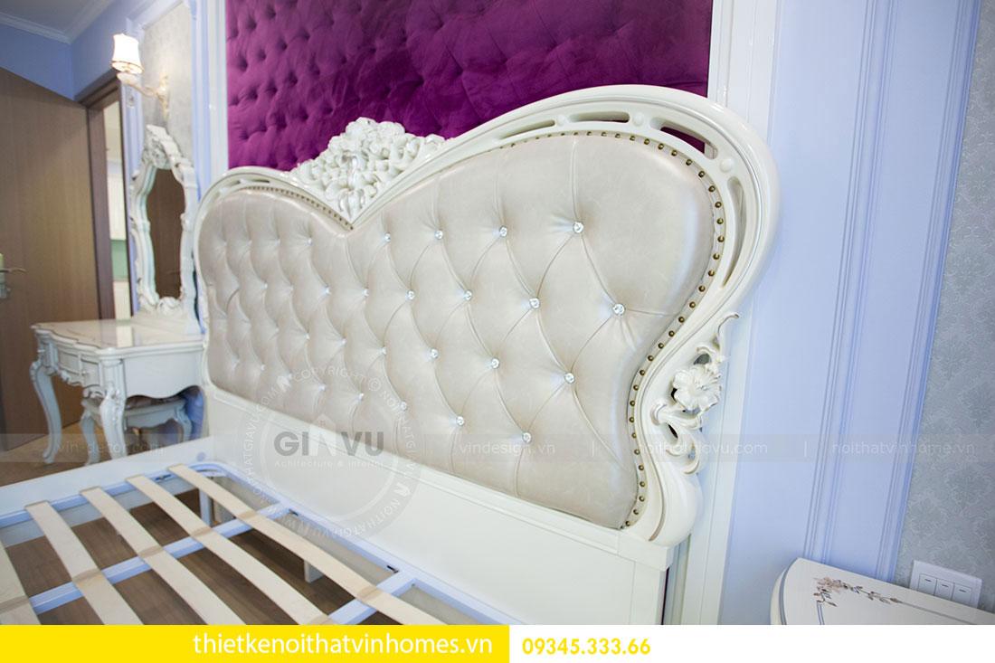 Thi công nội thất chung cư DCapitale theo phong cách tân cổ điển 17