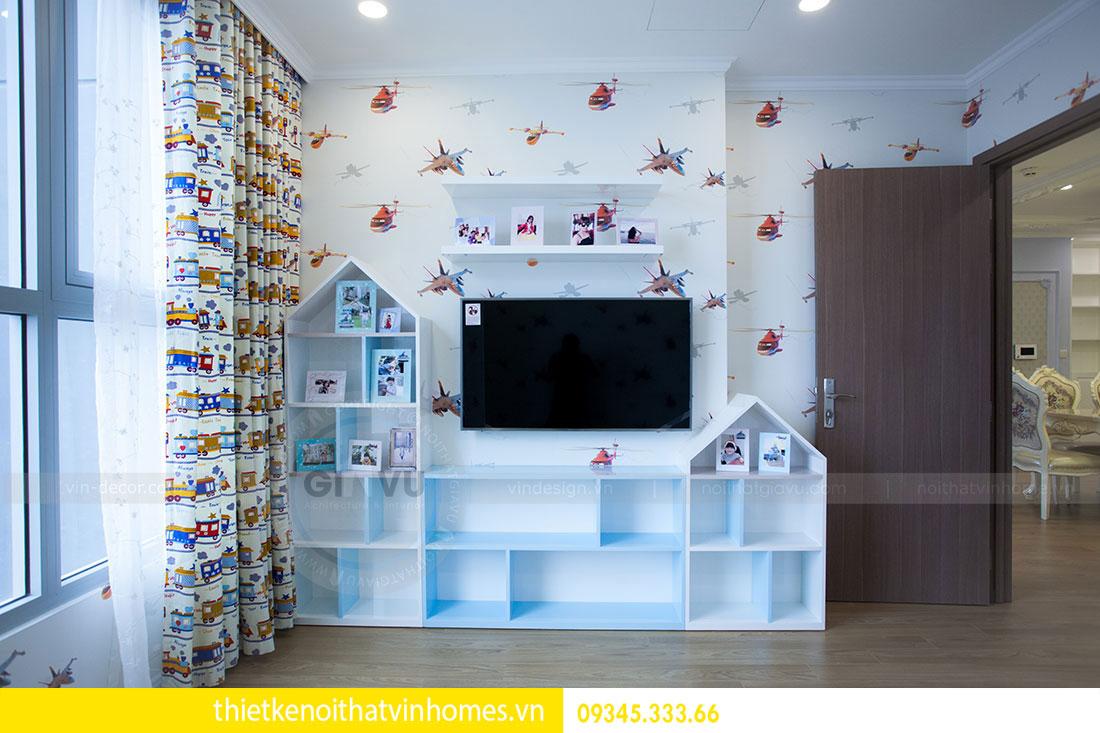 Thi công nội thất chung cư DCapitale theo phong cách tân cổ điển 18