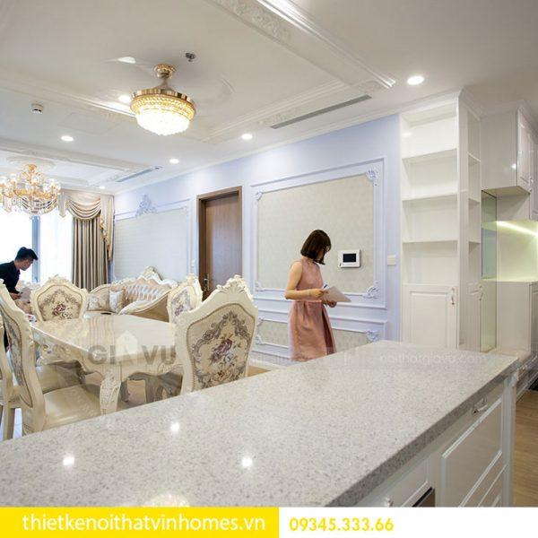 Thi công nội thất chung cư DCapitale theo phong cách tân cổ điển 2