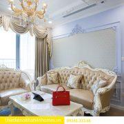 Thi công nội thất chung cư DCapitale theo phong cách tân cổ điển 6