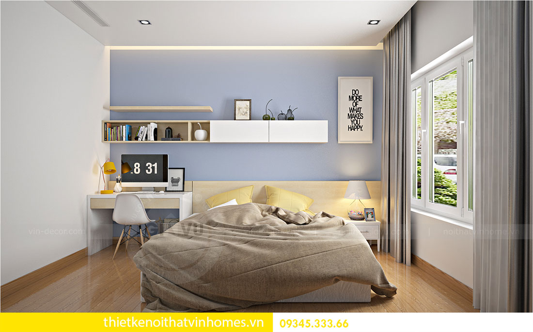 Thiết kế nội thất biệt thự Green Bay sang trọng hiện đại 14