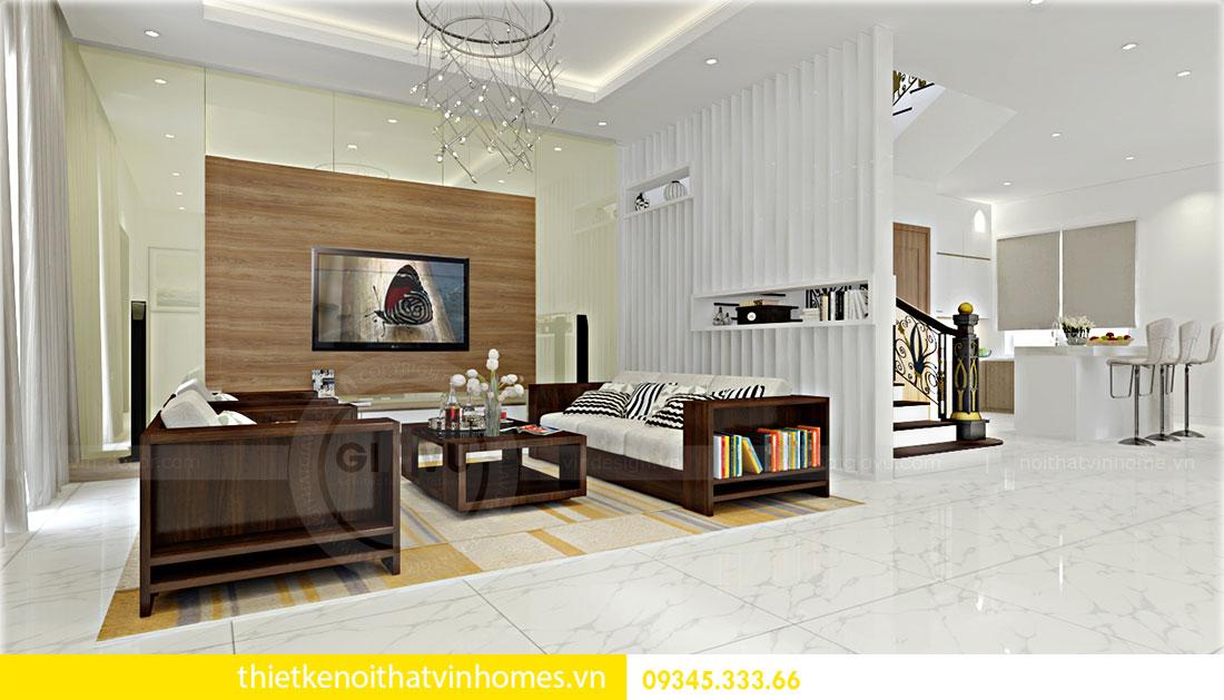 Thiết kế nội thất biệt thự Green Bay sang trọng hiện đại 3