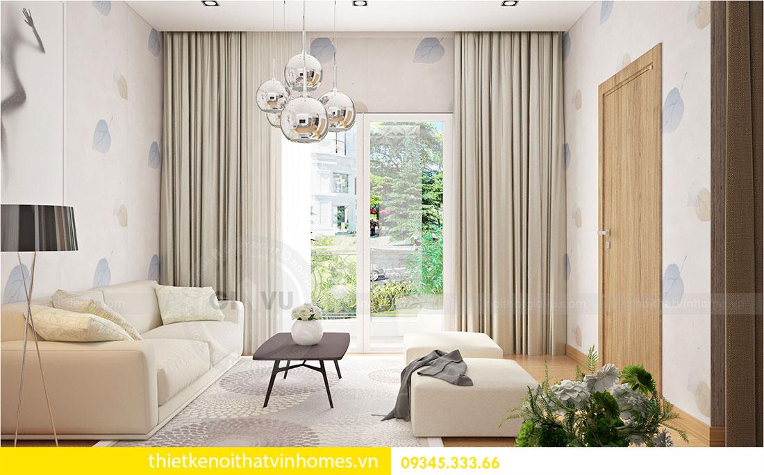 Thiết kế nội thất biệt thự Green Bay sang trọng hiện đại 5