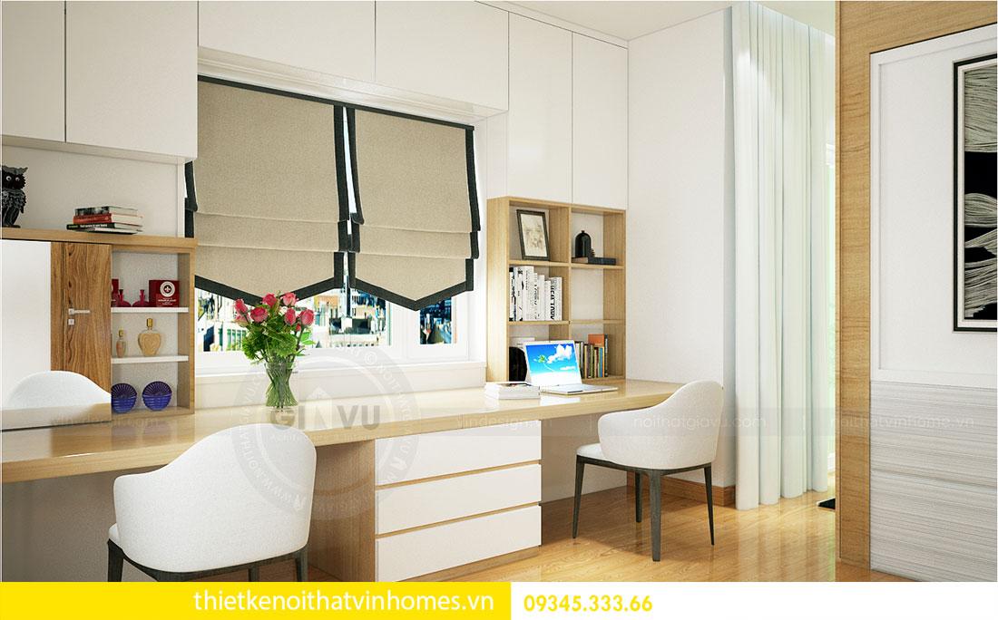 Thiết kế nội thất biệt thự Green Bay sang trọng hiện đại 8