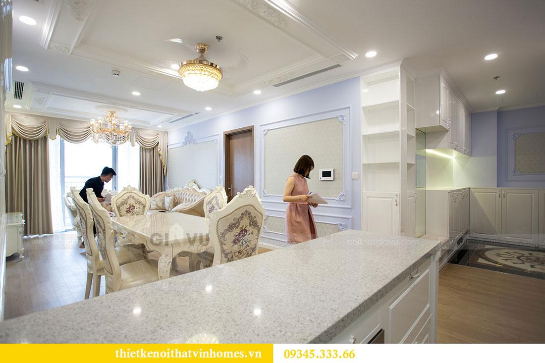 Hoàn thiện nội thất chung cư D Capitale 2