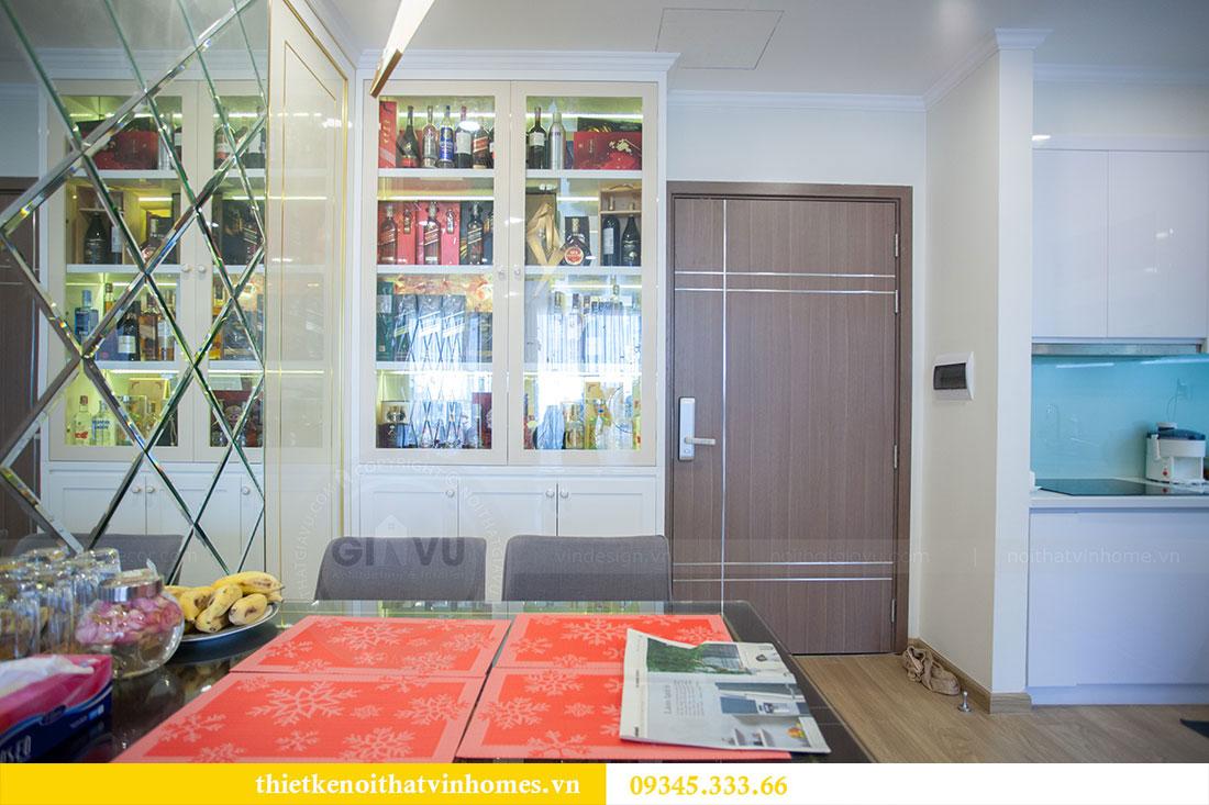 Hoàn thiện nội thất chung cư Dcapitale căn 2 phòng ngủ 1