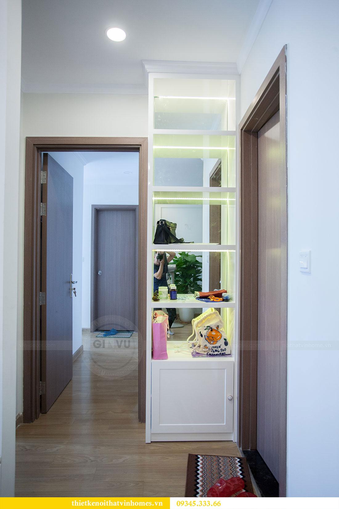 Hoàn thiện nội thất chung cư Dcapitale căn 2 phòng ngủ 11