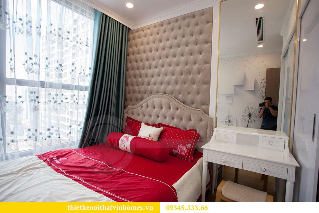 Hoàn thiện nội thất chung cư Dcapitale căn 2 phòng ngủ 12