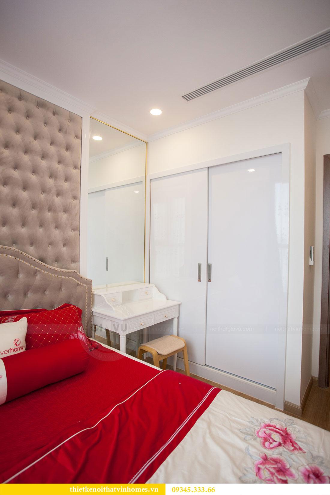 Hoàn thiện nội thất chung cư Dcapitale căn 2 phòng ngủ 13