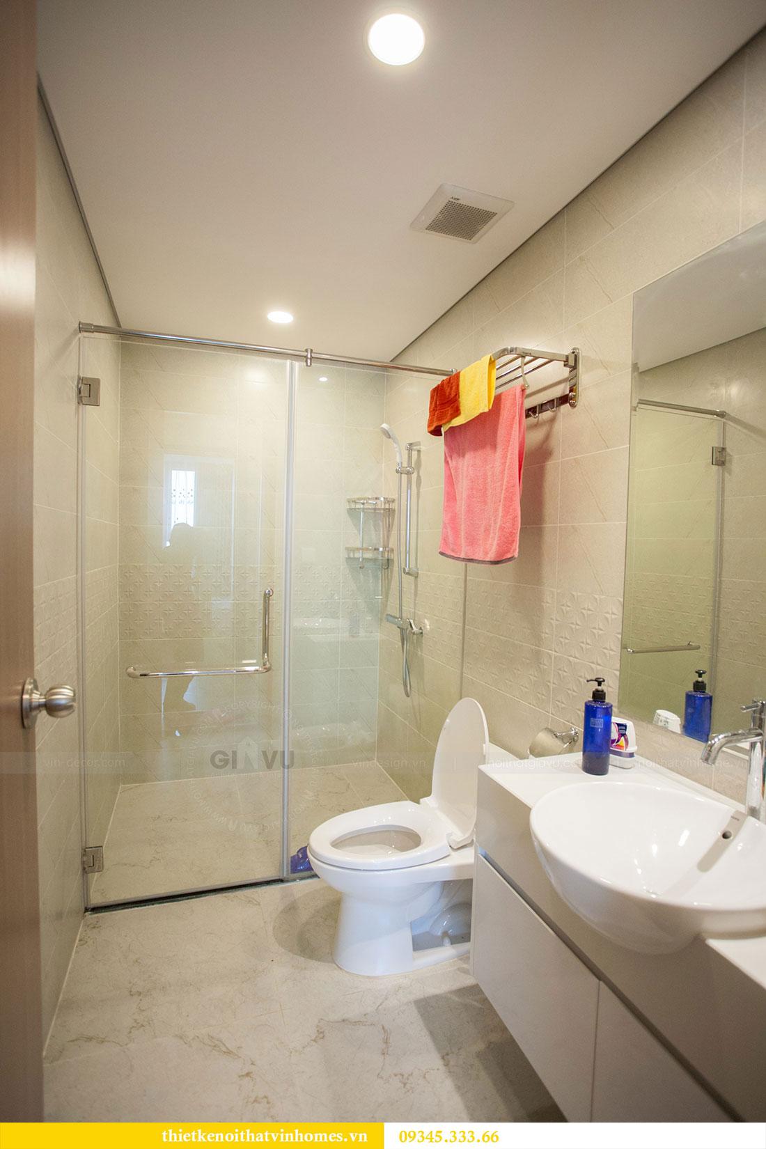 Hoàn thiện nội thất chung cư Dcapitale căn 2 phòng ngủ 16