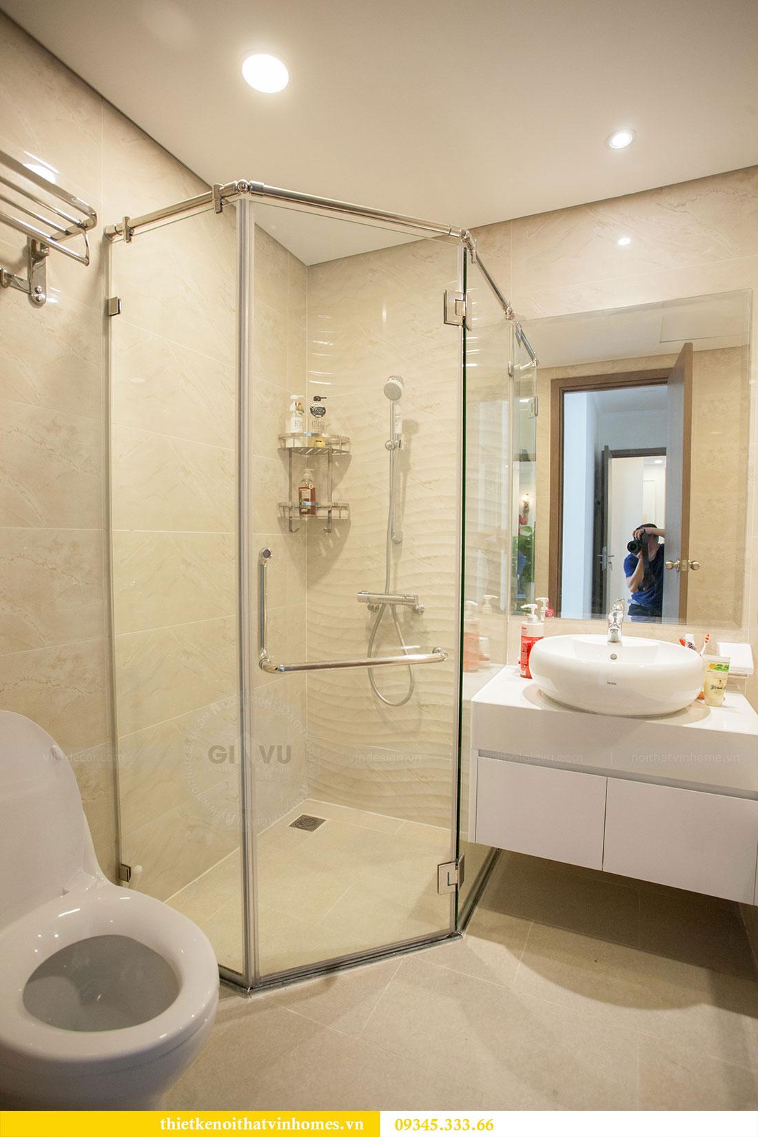 Hoàn thiện nội thất chung cư Dcapitale căn 2 phòng ngủ 17
