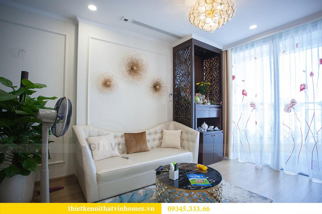 Hoàn thiện nội thất chung cư Dcapitale căn 2 phòng ngủ 4