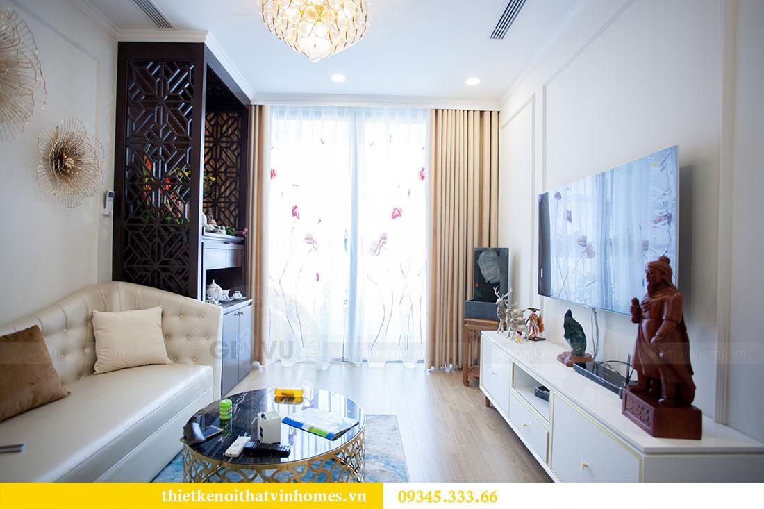 Hoàn thiện nội thất chung cư Dcapitale căn 2 phòng ngủ 6