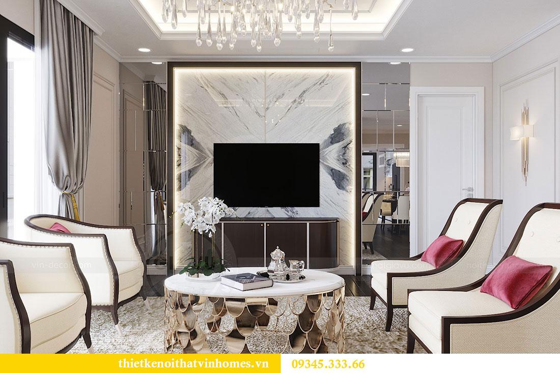 Thiết kế nội thất Vinhomes D Capitale theo phong cách Luxury 2