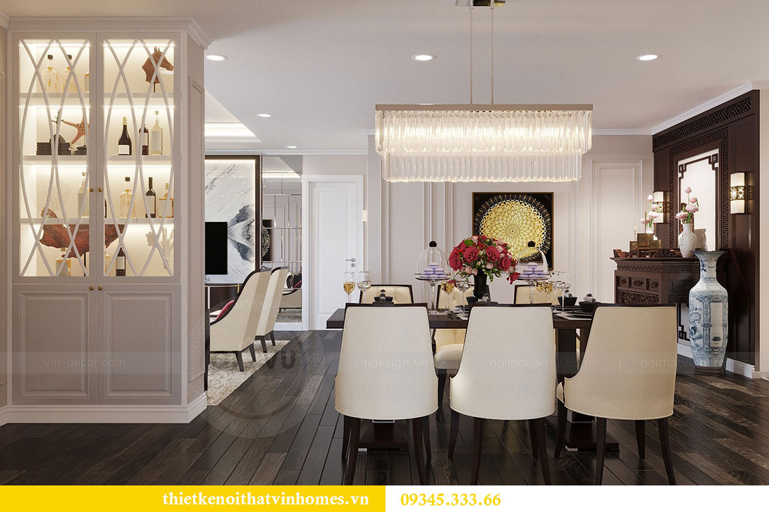 Thiết kế nội thất Vinhomes D Capitale theo phong cách Luxury 3