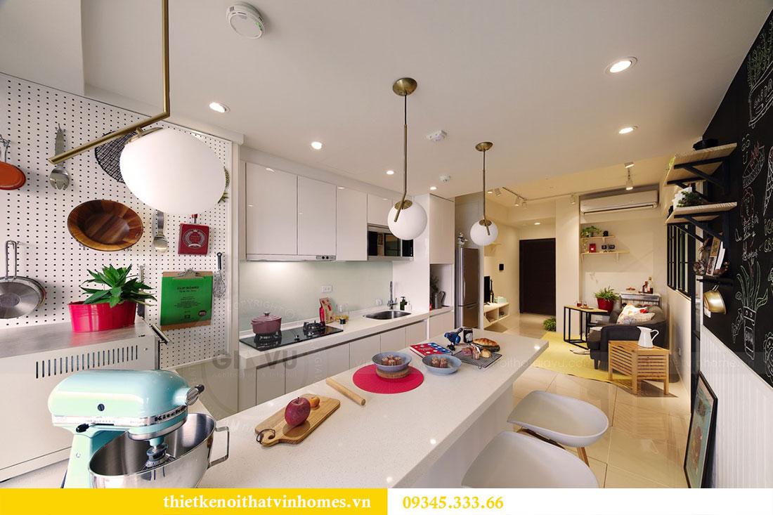 Thi công hoàn thiện nội thất Vinhomes Dcapitale đẹp hiện đại 4
