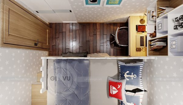 Thiết kế căn hộ chung cư 789 Ngoại Giao Đoàn đẹp, hiện đại 12