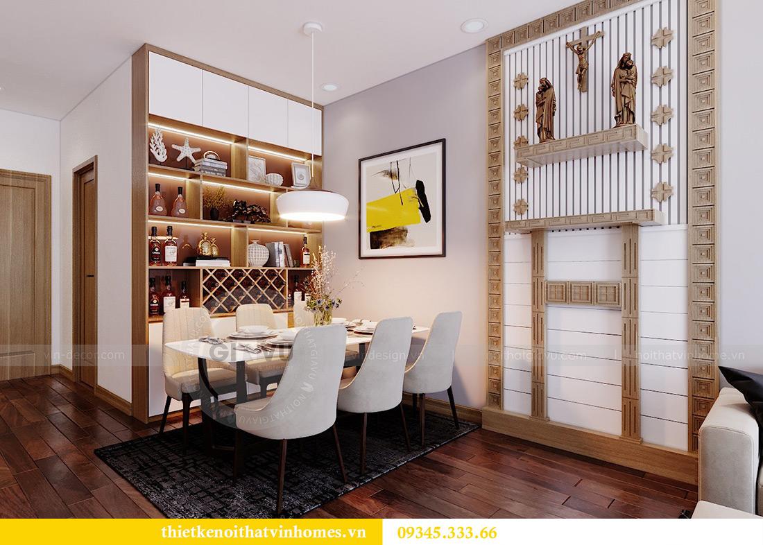 Thiết kế căn hộ chung cư 789 Ngoại Giao Đoàn đẹp, hiện đại 3