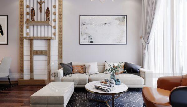 Thiết kế căn hộ chung cư 789 Ngoại Giao Đoàn đẹp, hiện đại 5