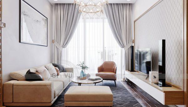 Thiết kế căn hộ chung cư 789 Ngoại Giao Đoàn đẹp, hiện đại 6