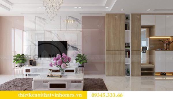 Thiết kế nội thất căn hộ chung cư Mandarin Garden Hoàng Minh Giám 1