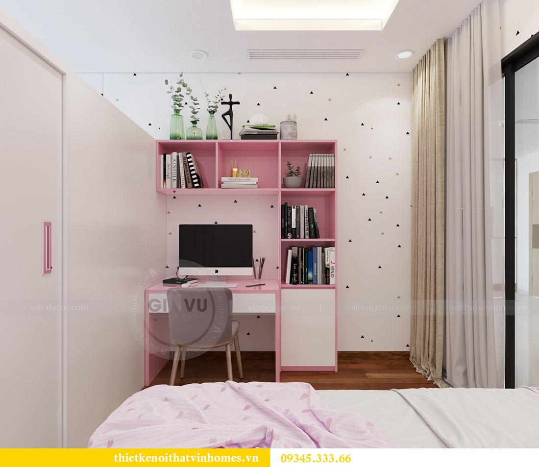 Thiết kế nội thất căn hộ chung cư Mandarin Garden Hoàng Minh Giám 11