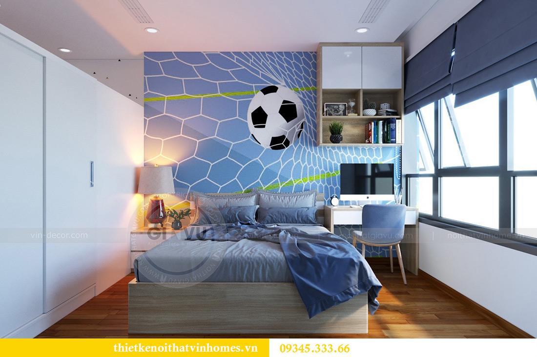 Thiết kế nội thất căn hộ chung cư Mandarin Garden Hoàng Minh Giám 12