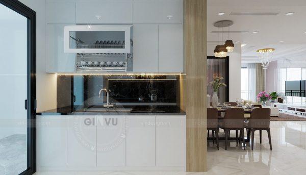 Thiết kế nội thất căn hộ chung cư Mandarin Garden Hoàng Minh Giám 4