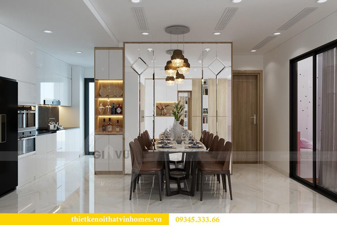 Thiết kế nội thất căn hộ chung cư Mandarin Garden Hoàng Minh Giám 5